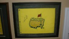 1997 Tiger Woods Masters Signed Pin Flag (Full JSA Letter)