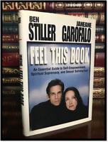 Feel This Book ✎SIGNED✎ by BEN STILLER & JANEANE GAROFALO Hardback 1st Ed. Print
