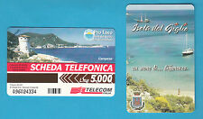 SCHEDA TELECOM G 629 C&C 2685 SCHEDA TELEFONICA NUOVA ISOLA GIGLIO  SC. 30.06.99