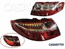1999 -2004 Porsche 911 996 LED Tail Lights RED Clear One Pair
