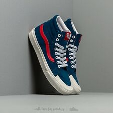 Vans brand new UK 6 blue red white hi top sk8 hi rare bnib reissue 13 sailor