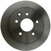 Disc Brake Rotor-Non-Coated Rear ACDelco Advantage 18A1664A