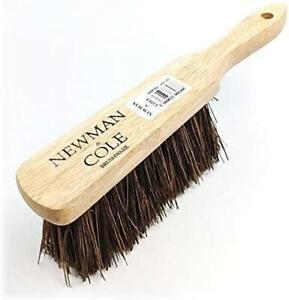 Stiff Hand Brush Hard Bristles Natural Bassine Wooden Sweeping Cleaning Broom