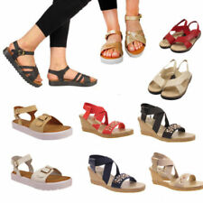 Unbranded Buckle Ankle Strap Sandals & Beach Shoes for Women
