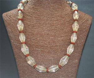 old tibetan necklace white crystal prayer beads ancient bracelet antique mala