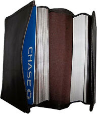 New 100 plus leather business card credit ATM card holder multiple card case BN