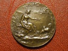 Art Nouveau Aviculture Association of France Paris Bronze Medal M28
