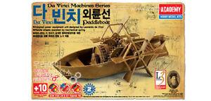 Academy Kit de Modelismo Da Vinci Paddleboat Menta