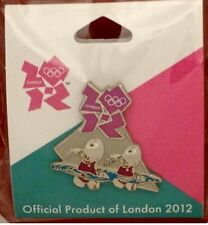 Synchronized Swimming Olympic Pin Badge ~ 2012 London~Mascot Wenlock~Games Mark