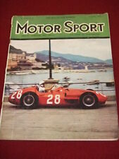 MOTORSPORT - NOV 1956 VOL XXXII # 11