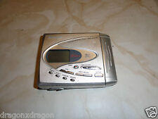 "Sharp MD-SR75 tragbarer MiniDisc Recorder, DEFEKT, zeigt ""Can´t Read"""