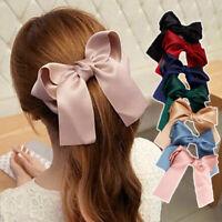 1 pcs Ribbon Rope Cute Hair Ties Bow Elastic Hair Band Girl Hair Accessories Hot