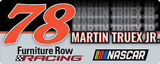 NASCAR #78 Martin Truex Bumper Sticker-NASCAR Decal