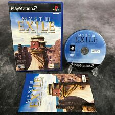 Myst III Exile PS2 PlayStation 2 PAL Game Complete Adventure Puzzler