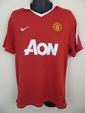 Nike 2010-11 Manchester United Football Shirt EPL Soccer Jersey Camiseta L Large