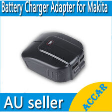 USB Mobile battery charger adaptor for Makita 14.4V 18V BL1830 BL1815 Li-ion AU