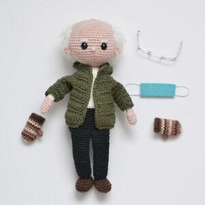 NEW Bernie Sanders Mittens Doll Crochet Patterns Gifts