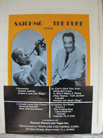 Satchmo Meets The Duke 8 Track Tape Someday Heebie Jeebies It Don't Mean A Thing