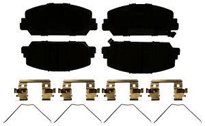 Disc Brake Pad Set-Ceramic Disc Brake Pad Front ACDelco Advantage 14D1625CHF1