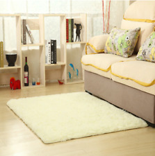 Solid Color Carpet Mat Ultra Soft Modern Area Rugs Shaggy Nursery Rug Home Room