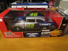 RACING CHAMPIONS 1/18 STOCK RODZ JIMMIE JOHNSONS #48 LOWE'S 1955 CHEVY *READ*