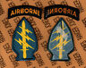 .US Army Special Forces Groups Airborne Odd color dress uniform patch