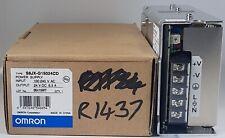 Omron S8JX-G15024CD Power Supply Unit Output 24V DC 6.5A Input 100-240V AC