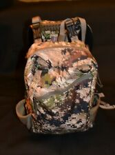 Mystery Ranch hybrid backpack pop-up frame with mule bag