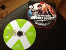 XBOX MAGAZINE PROMO TRAILERS DVD DISC . BIOSHOCK INFINITE / ASSASSIN'S CREED 1V