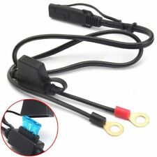 Terminal Harness Motorcycle Car Battery Charger/Tender Cables Connector Durable
