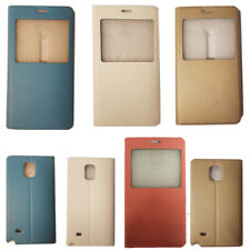 For Samsung Galaxy Note 4 N910F Front S-View Smart Window Flip Cover Case New