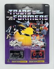 Transformers G1 Ravage and Rumble  2-Pack Decepticons Re-Issue Exclusive