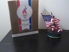 HALLMARK 1996 USA OLYMPIC SPIRIT TRACK & FIELD FIGURINE ATLANTA GAMES NEW IN BOX