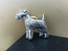 Terrier Schnauzer Airedale Dog Pin brooch