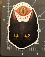 """Cats """"Eye"""" Funny Adult Humor Skateboard Laptop Guitar Decal Sticker"""