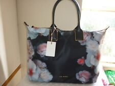 Ted Baker Genuine Cayenna Chelsea  Large Nylon Tote Bag Black Brand NEW Tagss