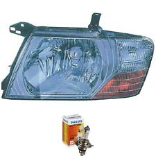 Headlight Right Mitsubishi Pajero III 04.00-01.07 Incl. Philips Jfs