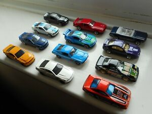Hot Wheels Ford Mustang job lot x12 toy cars, Cobra, Shelby GT500, Mach 1 etc