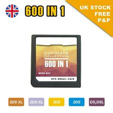 DS Game 600 in 1 Nintendo Cartridge Game Card for 3DSXL 2DSXL DS Pokemon Mario