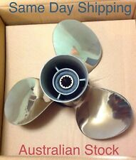 NEW STAINLESS STEEL PROPELLER PROP YAMAHA 40 - 60 HP 11 1/8 X 13P