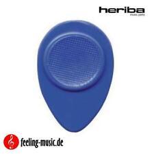 Heriba - Plektren Modell 130, oval, blau, hart (6-Stück)