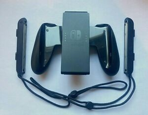Genuine Nintendo Switch Joy-Con Comfort Grip and Wrist Straps Set