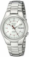 SEIKO 5 SNK613 Automatic Day-Date Silver White Dial Stainless Steel Men's Watch