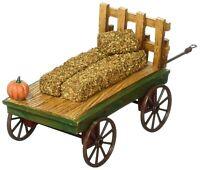 Harvest Fields Hayride Dept 56 Village Accessories 4057581 Christmas cart farm Z
