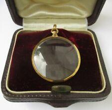 Grand médaillon pendentif porte photo ancien XIXème - Or 18 carats French 750