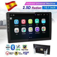 10'' 2Din Pantalla táctil Radio de Coche GPS Navi Android 8.1 MP5 Reproductor ES