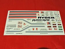 Model Truck Parts AMT Mack Cruise-Liner Decal Sheet 1/25