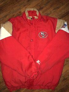 san francisco 49ers starter jacket XL