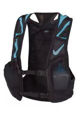 Nike Kiger Trail Running Vest NRL71-018 SIZE Small BLACK BLUE UNISEX NWT