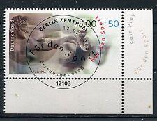 Bund Mi-Nr 2094  Ecke 4 (100+50) -Sport u.Frieden-  ESST Berlin 2000